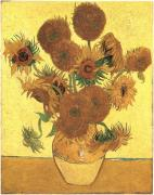 Still Life - Vase with fifteen sunflower, 1888